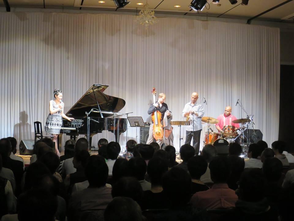 Kyoko Oyobe Quartet Japan tour 2014