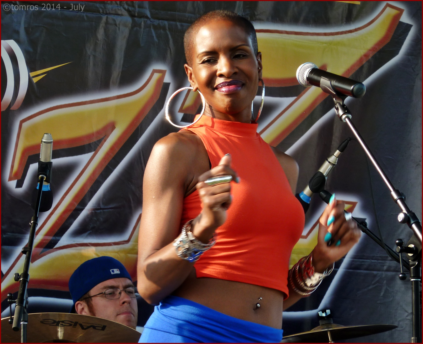 Kolette Easy at Beaches Jazz Festival on Island Stage - Woodbine Park 18. July, 2014