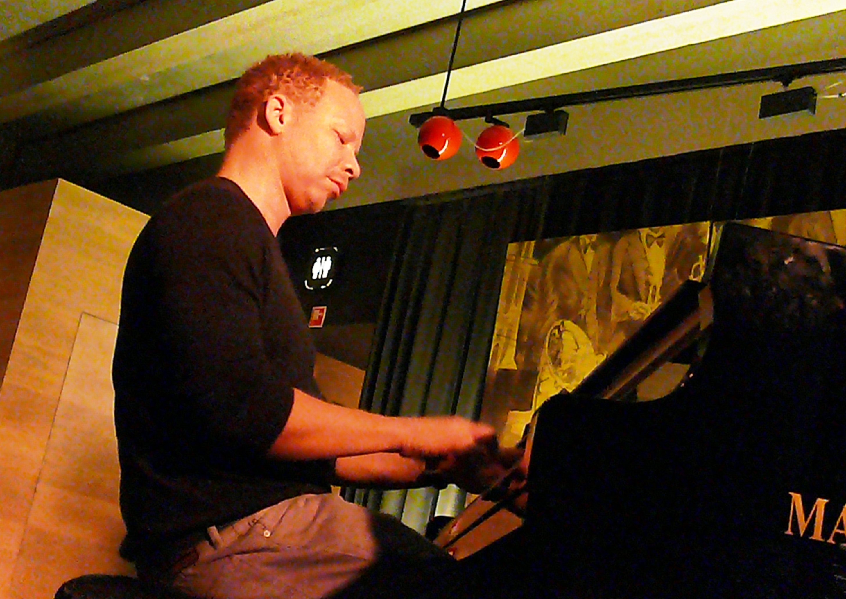 Craig Taborn at Gent Jazz Club in October 2014