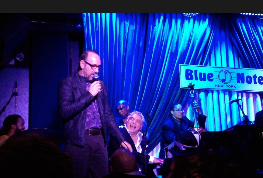 Kevin Spacey with Monty Alexander at the Blue Note