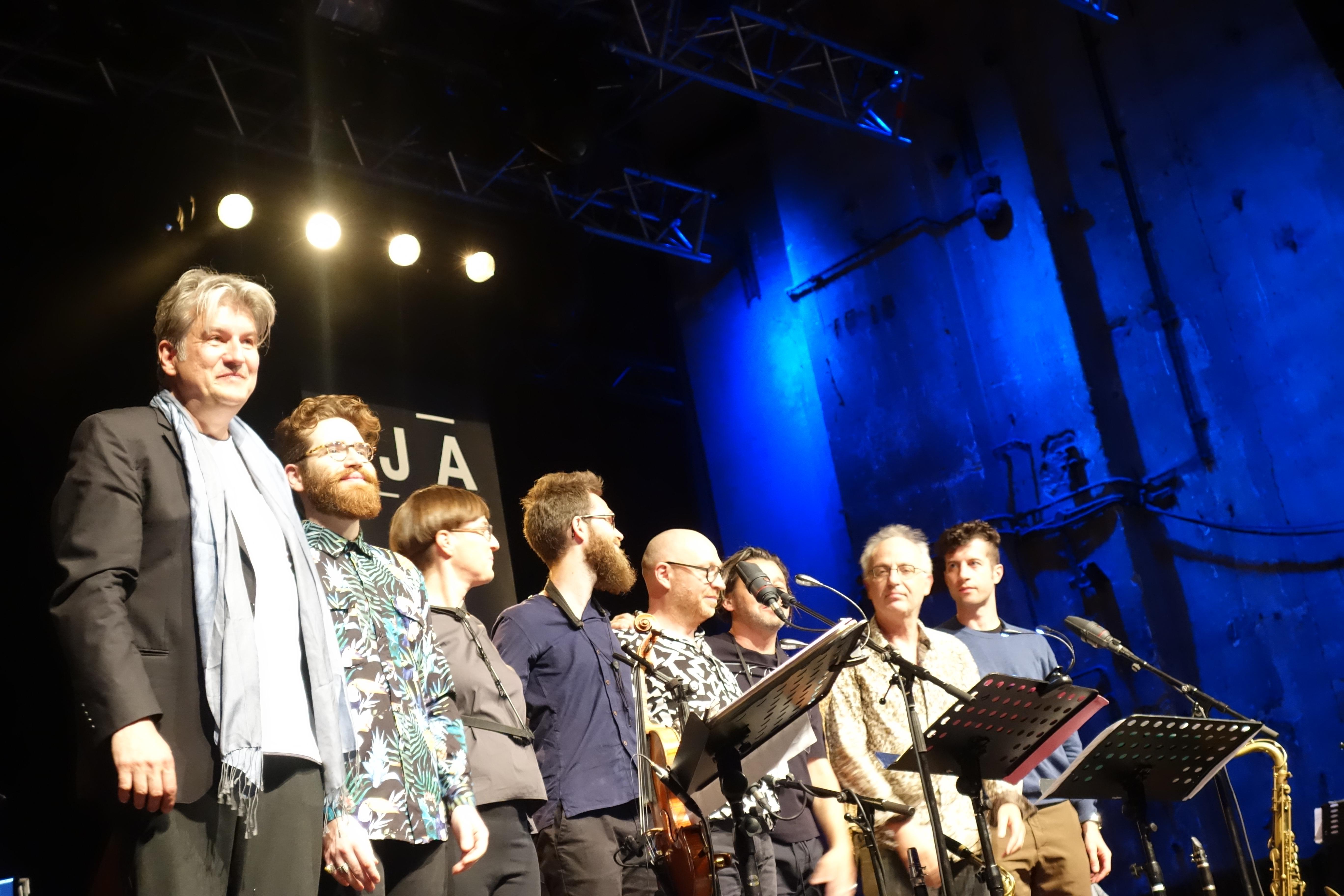 Hans Lüdemann TransEuropeExpress - Jazzdor Berlin 2018