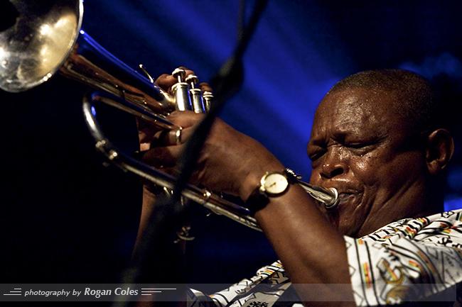 Hugh Masekela in Concert at la Tulipe in Montreal