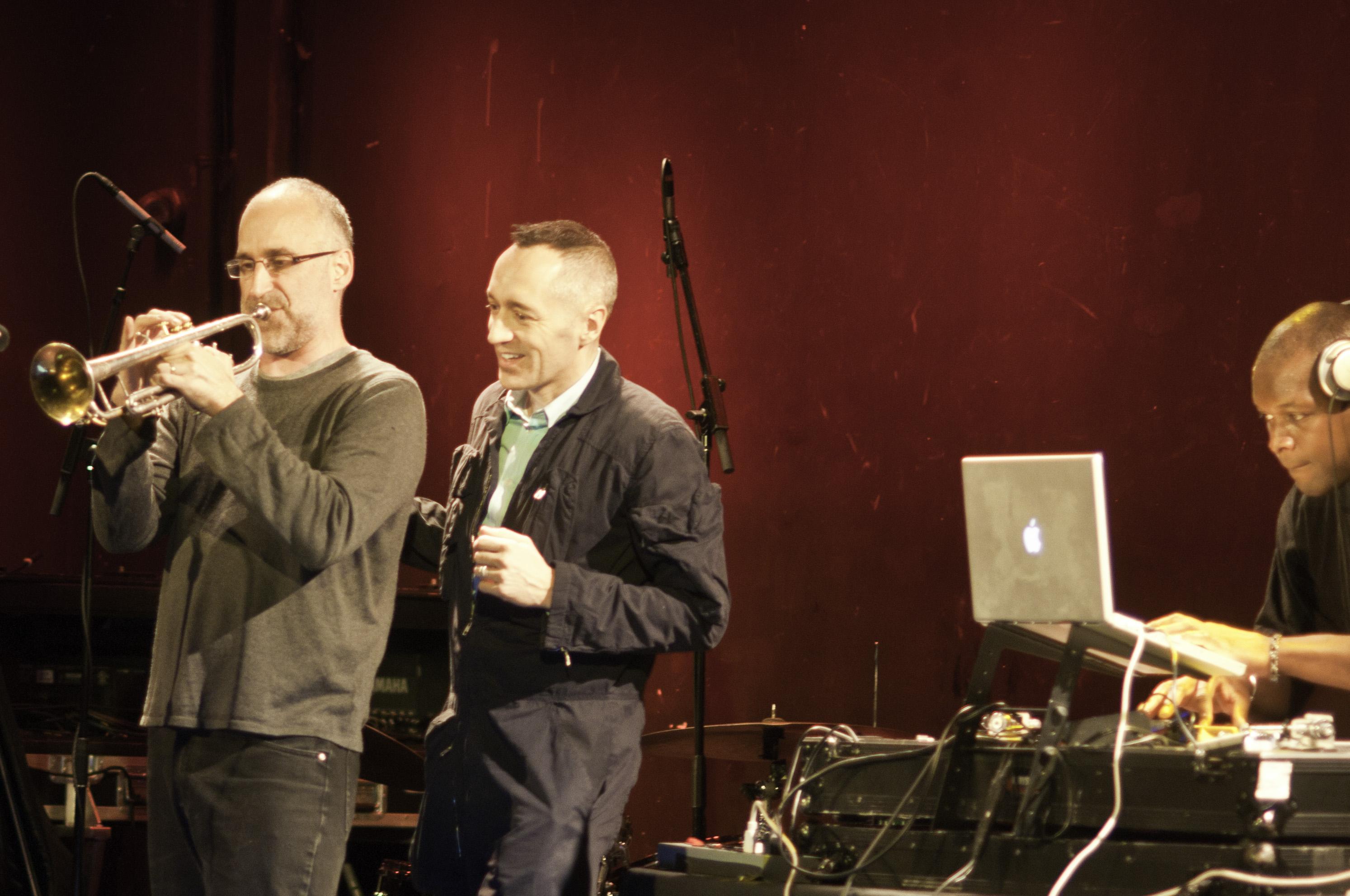 Ralph Alessi, Theo Bleckmann and DJ Logic