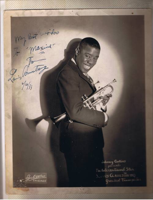 Louis Armstrong 1933