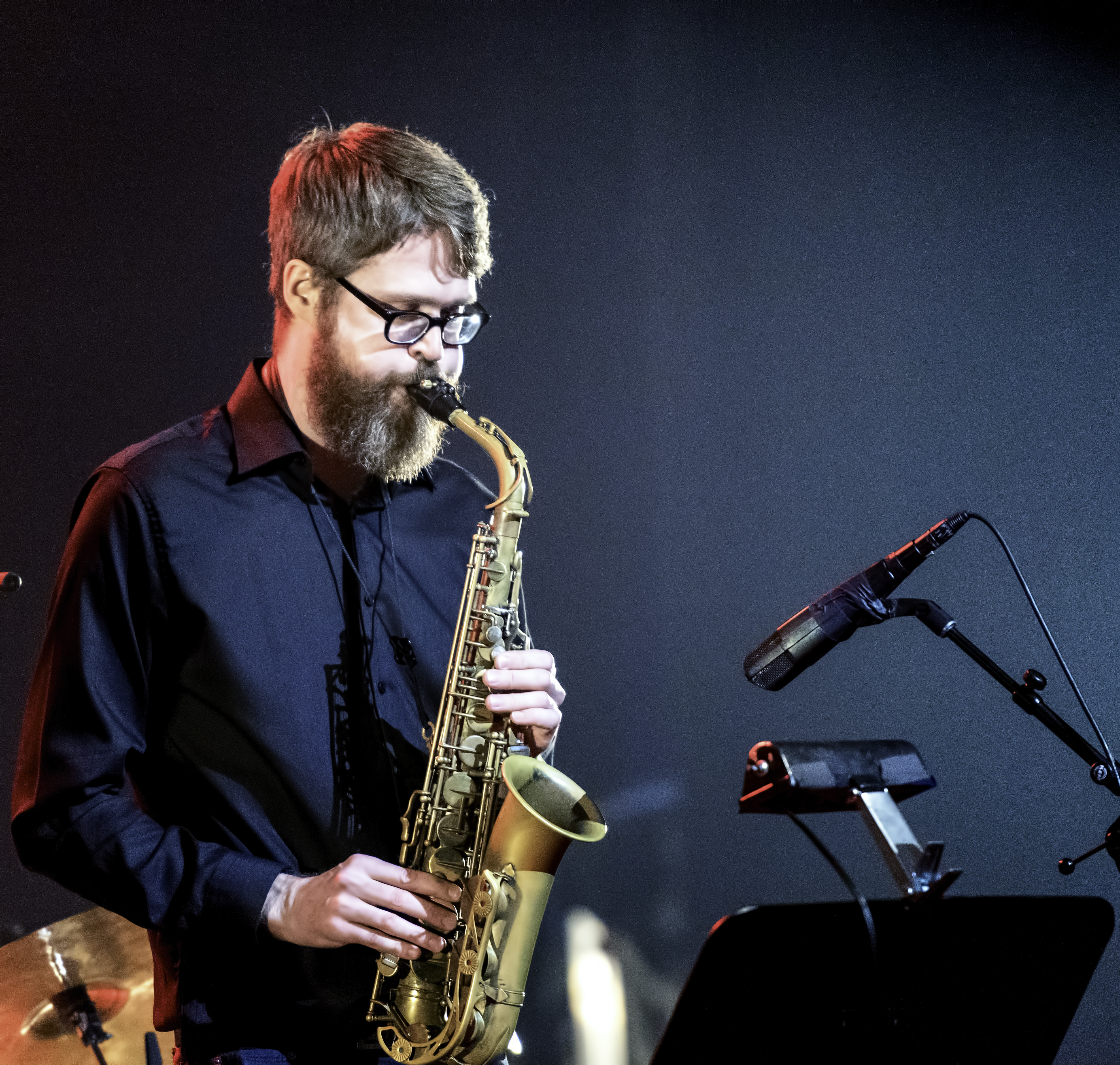 Erik Hove with the Alex Lefaivre YUL Quartet At The Montreal International Jazz Festival 2019