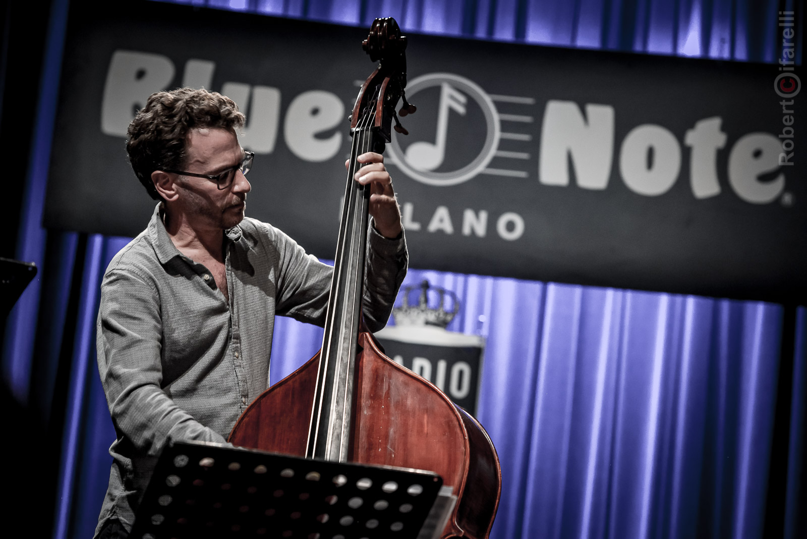 Larry Grenadier Fly Trio at Bluenote in Milan