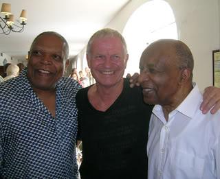 Drummers Billy Hart, Alex Riel, Ed Thigpen