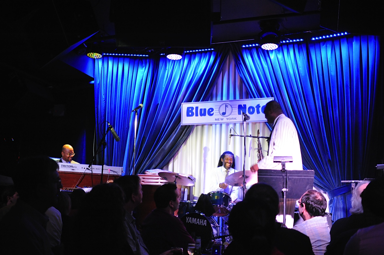 James Carter at the Blue Note #4