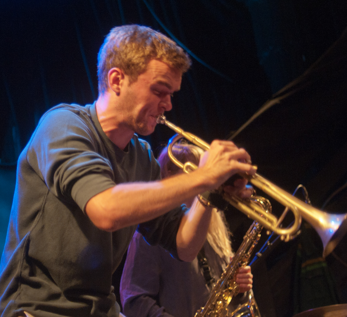 Ross Eustis at the Oslo Jazz Festival Jam Sessions