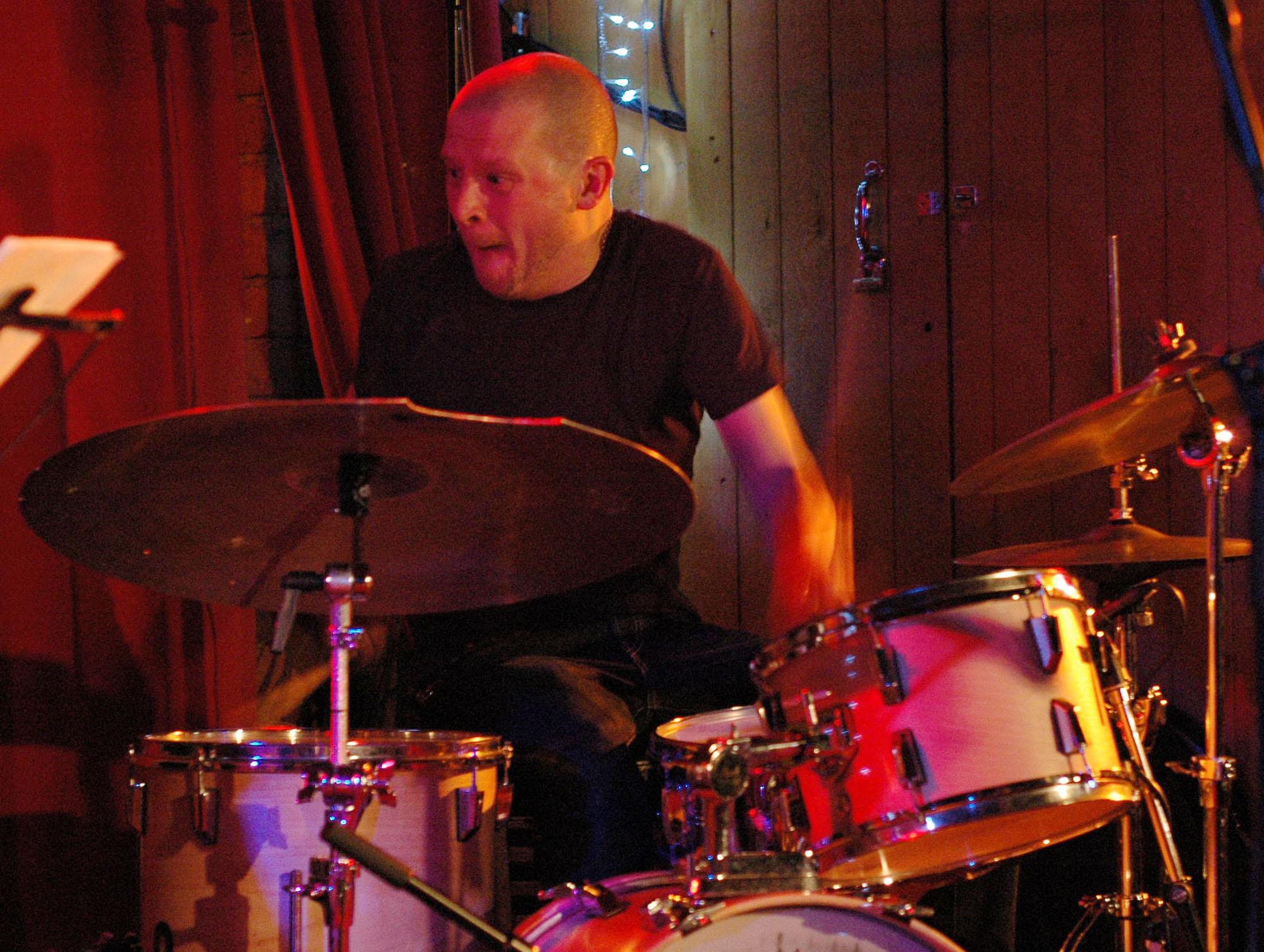 Joonas Riipa of Plop at 2010 Tampere Jazz Happening
