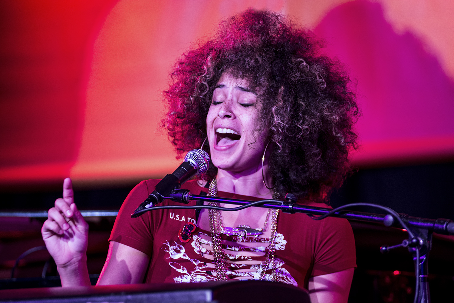 Kandace Springs at Monterey Jazz Festival 2017