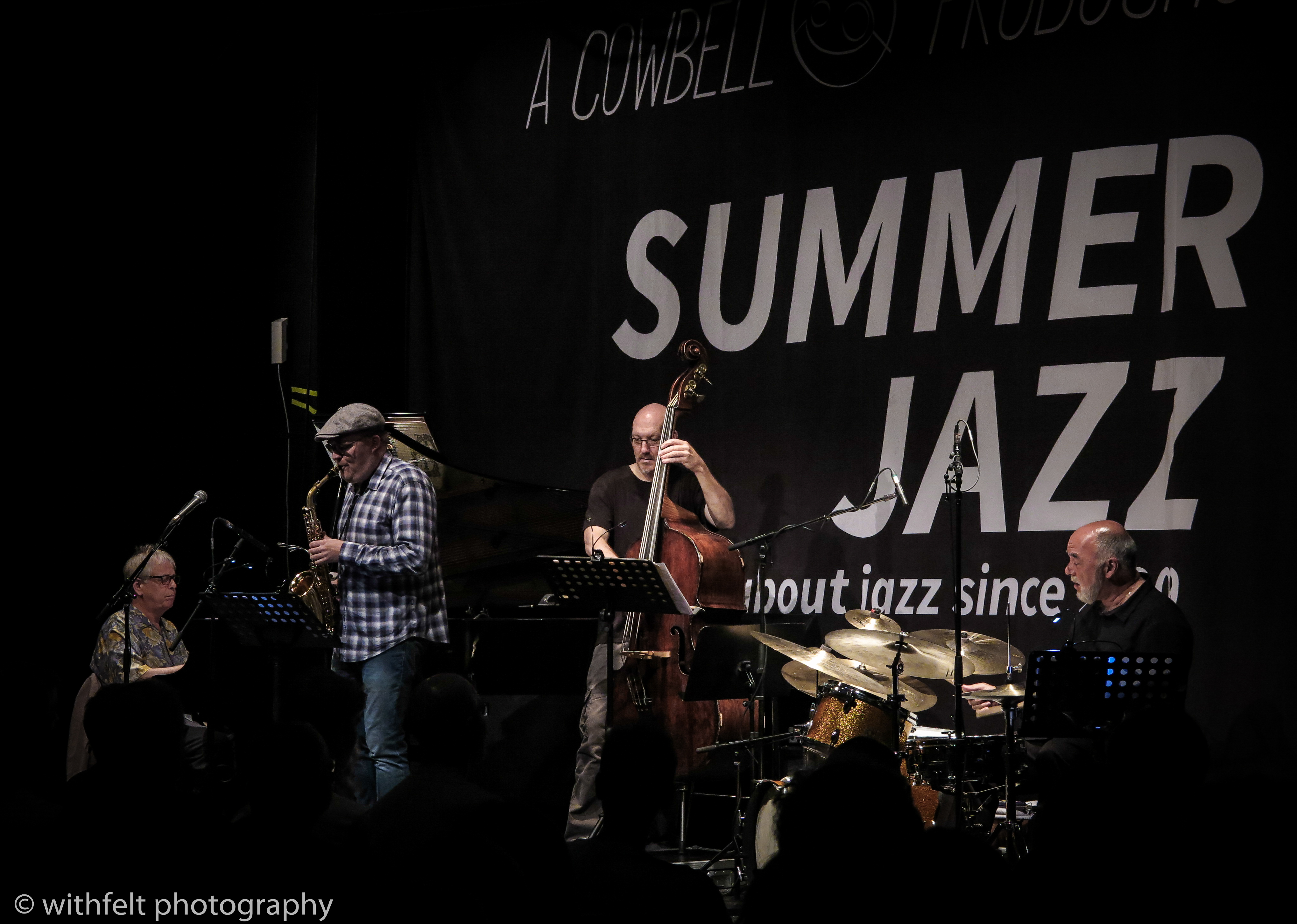 Peter Erskine Kenny Werner Scott Colley Benjamin Koppel at Summer Jazz 2017, Copenhagen Jazz Festival, Denmark