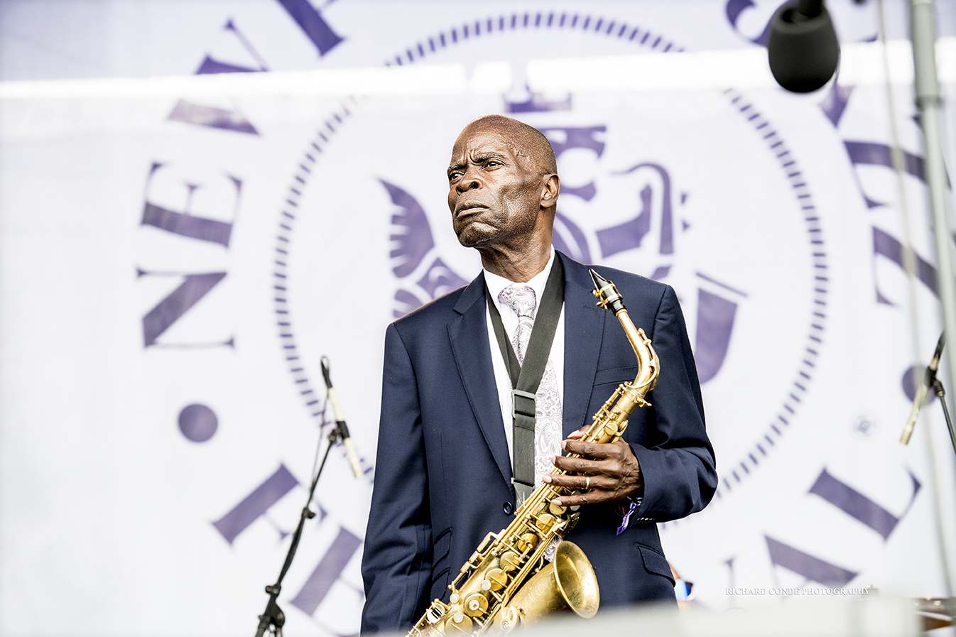 Maceo Parker at the 2017 Newport Jazz Festival