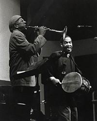 Charles Lloyd & Billy Higgins @ The Jazz Bakery, 1998.