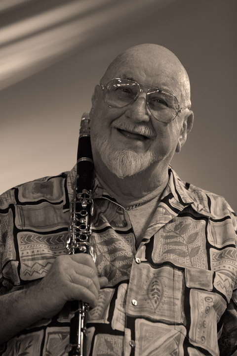 Pete Fountain at the New Orleans Jazz and Heritage Festival 2005