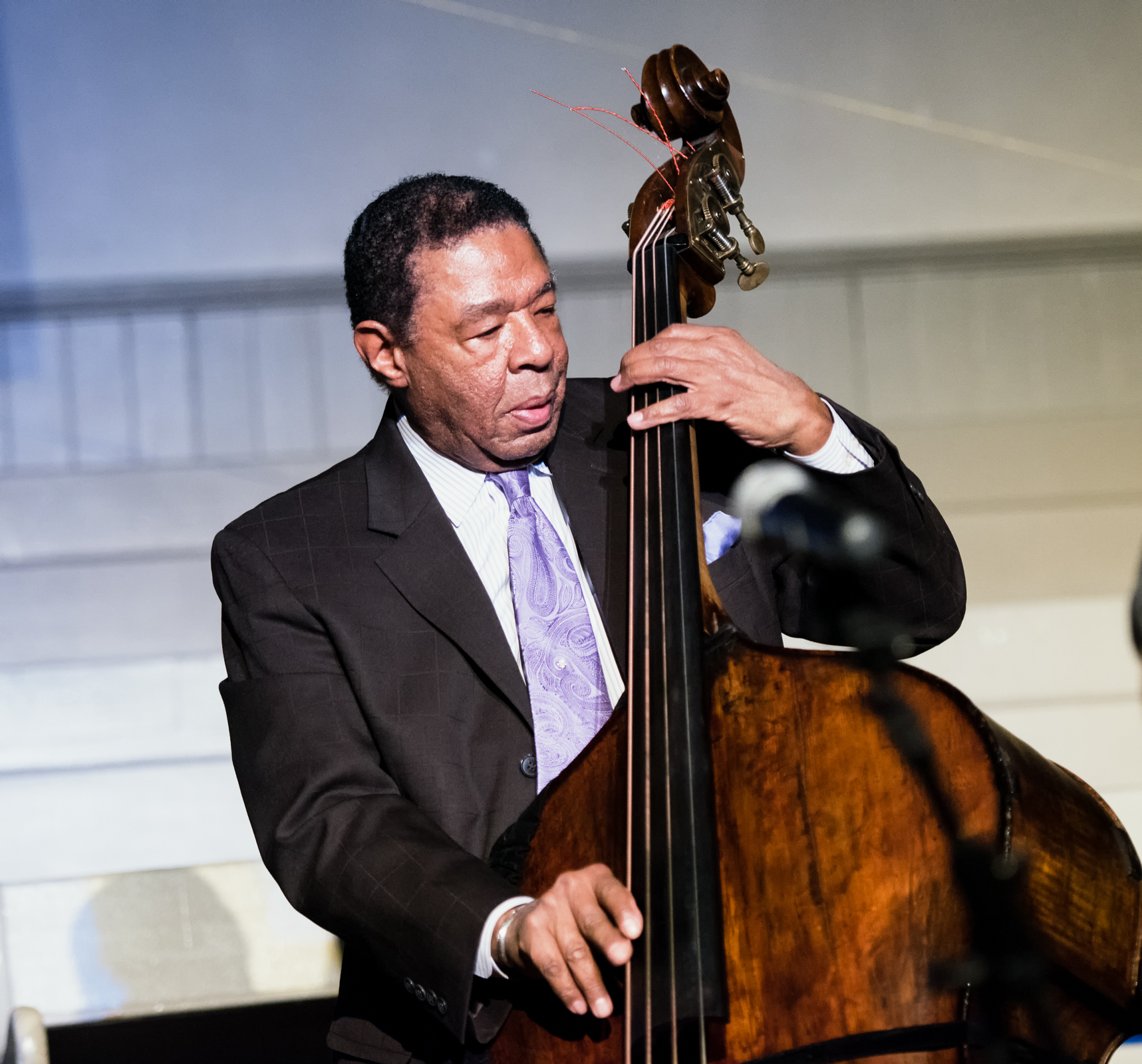 Buster Williams at Jazz Legends Play for Disability Pride at Nyc Winter Jazzfest 2015