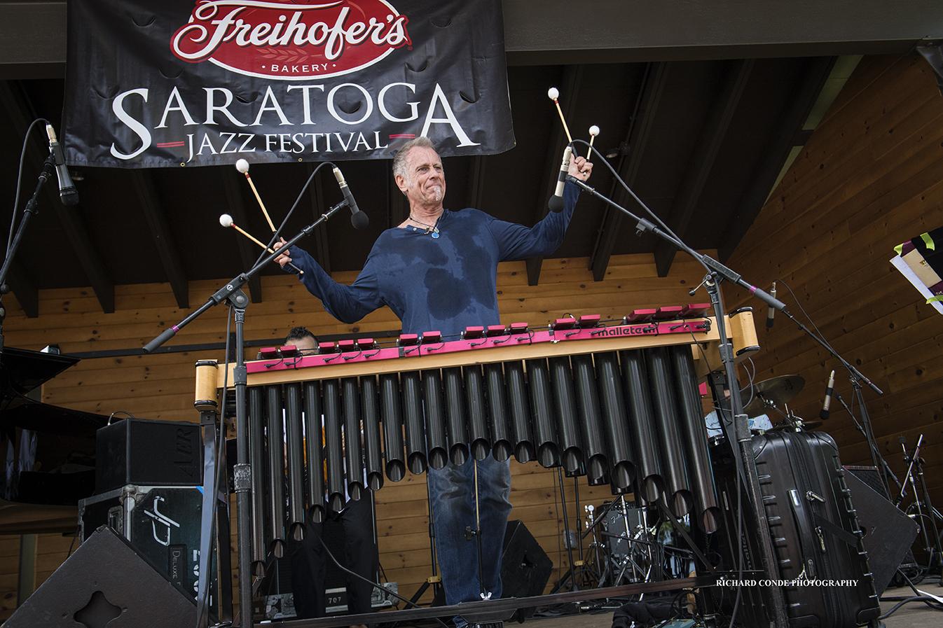 Joe Locke at the Saratoga Jazz Festival