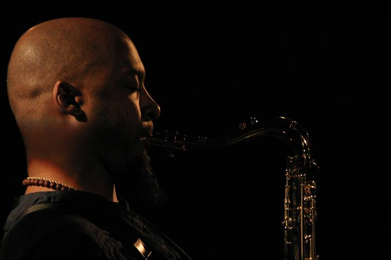 "Ron Blake with ""Meshell Ndegeocello Presents the Spirit Jamia"" at Cully Jazz Festival, Switzerland, 2005"