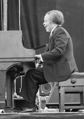 Jaki Byard 0324209 First Pendley Int. Jazz Fest., UK. July 1985 Images of Jazz