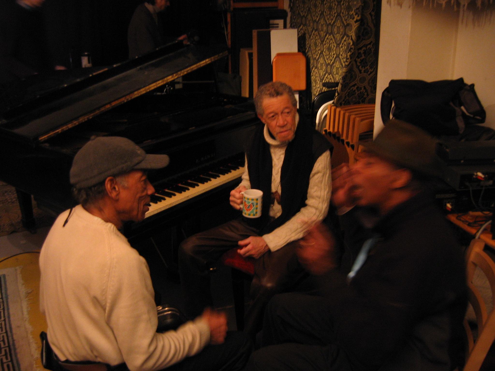 Bobby Few, Noah Howard and Byron Pope