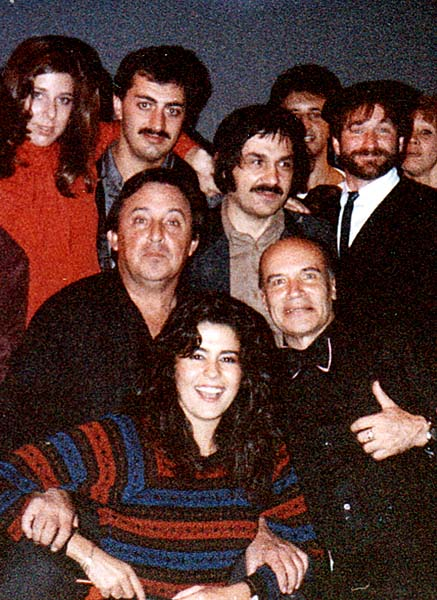 Vlad West with Robin Williams and Paul Mazursky