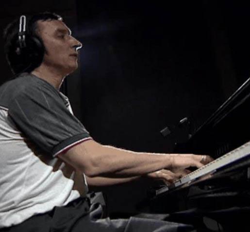 Eugene maslov in recording studio nyc 2002