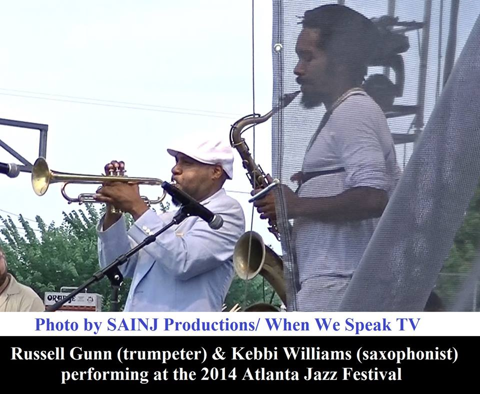 Russell Gunn and Kebbi Williams Blaze the Stage