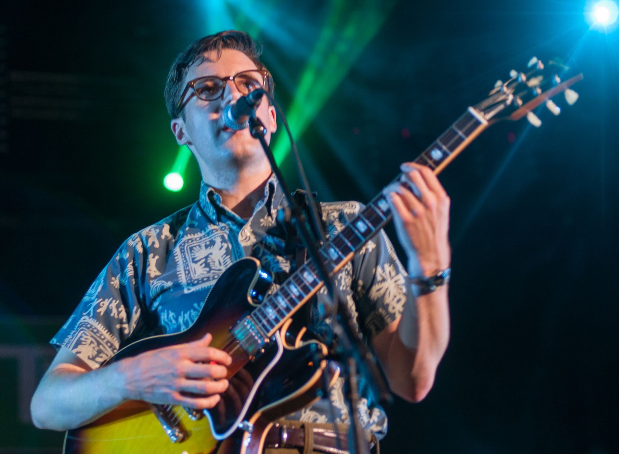 Nick waterhouse with the tarots at the montreal international jazz festival 2013