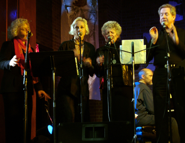 Jeanne Lee Project:Vocalists Ellen Christi, Lisa Sokolov, Jay Clayton and Thomas Buckner + Cooper-Moore