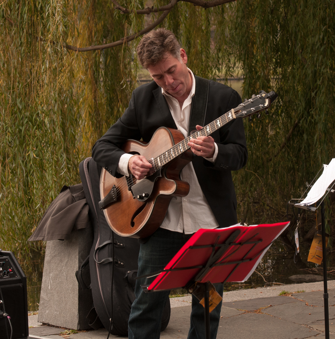 Peter Bernstein with the Jason Marshall Quartet at Jazz and Colors in Central Park
