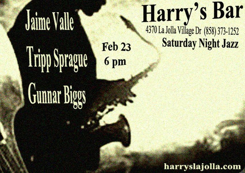 Jaime Valle Jazz Trio Feb 23