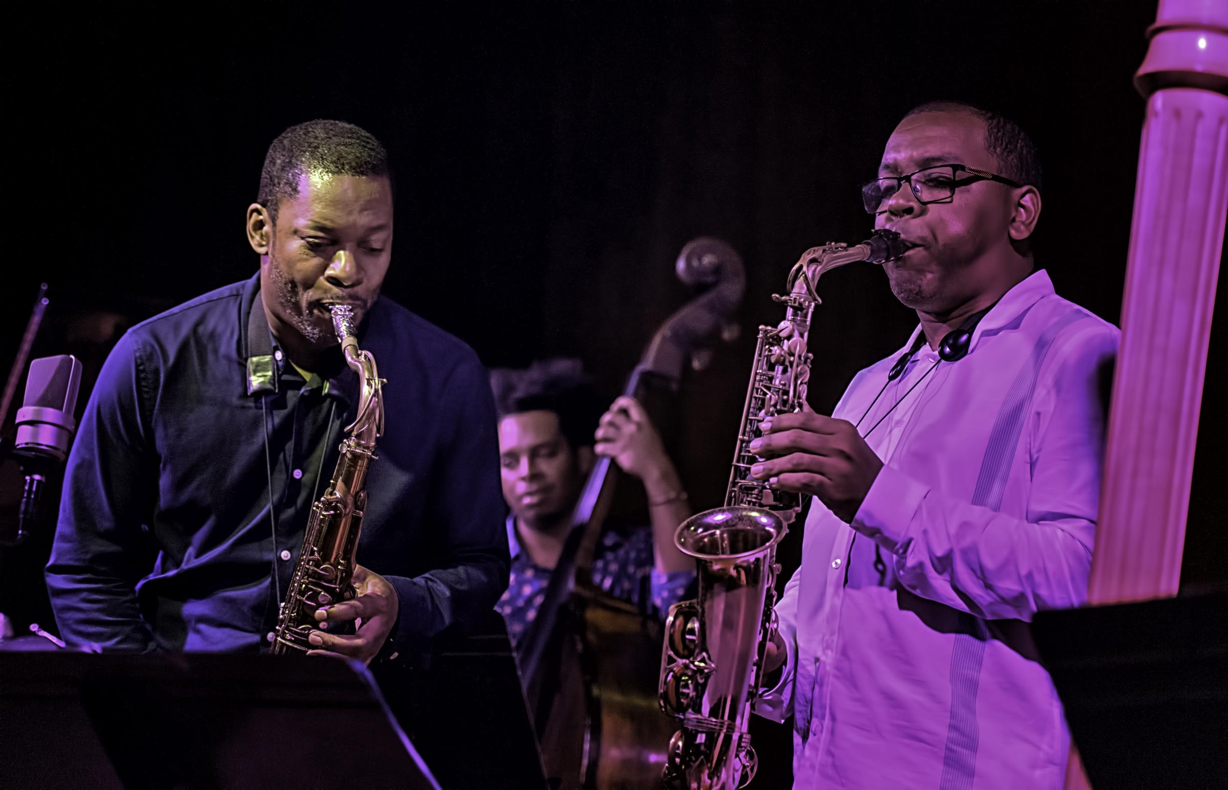 Ravi Coltrane, Rashaan Carter and Roman Filiu with Ravi Coltrane Presents Universal Consciousness: Melodic Meditations of Alice Coltrane at the Jazz Gallery