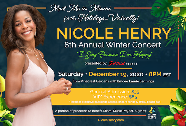 Nicole Henry's 8th Annual Winter Concert