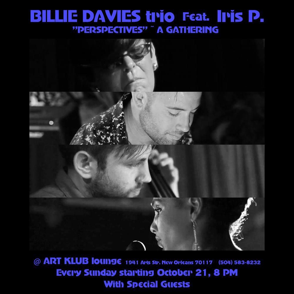 Billie Davies Trio Featuring Iris P.