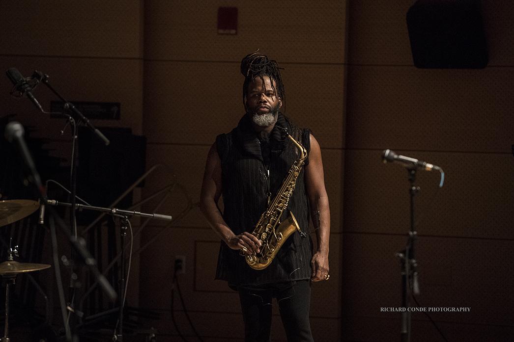 Casey Benjamin at the 2018 Winter Jazz Festival