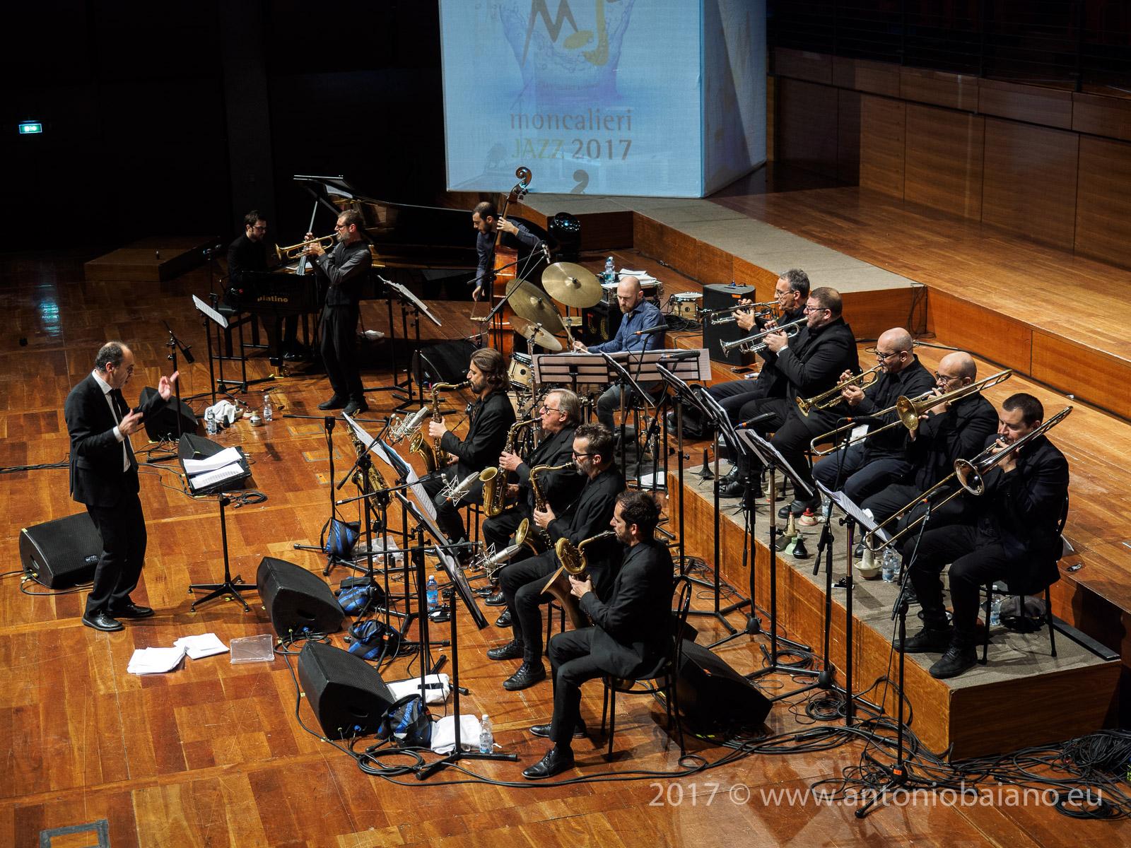 Fabrizio Bosso and Paolo Silvestri Orchestra - Dizzy Gillespie Centenary - Moncalieri Jazz Festival