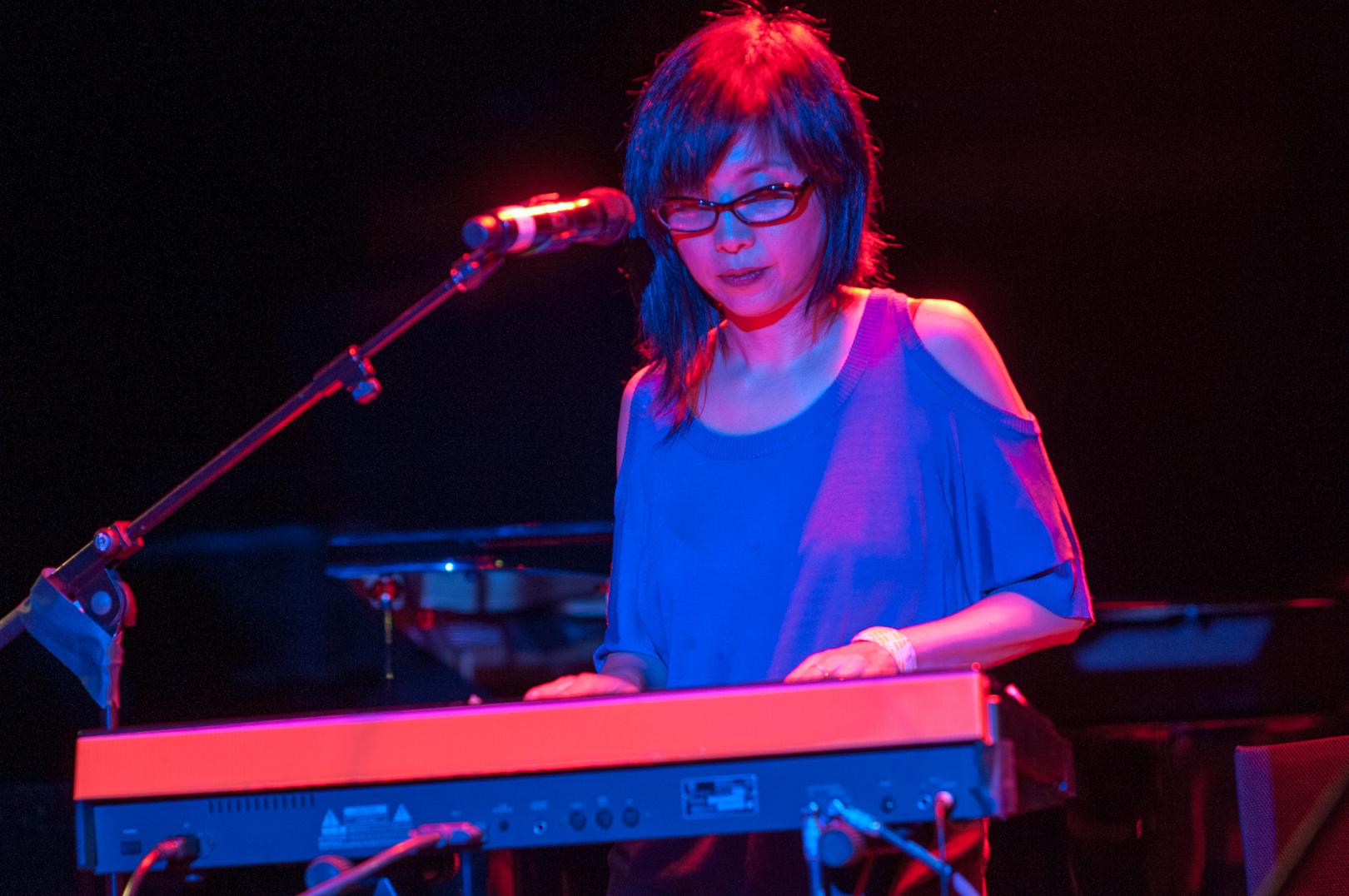 Yuka Honda with Eucademix at the Undead Music Festival