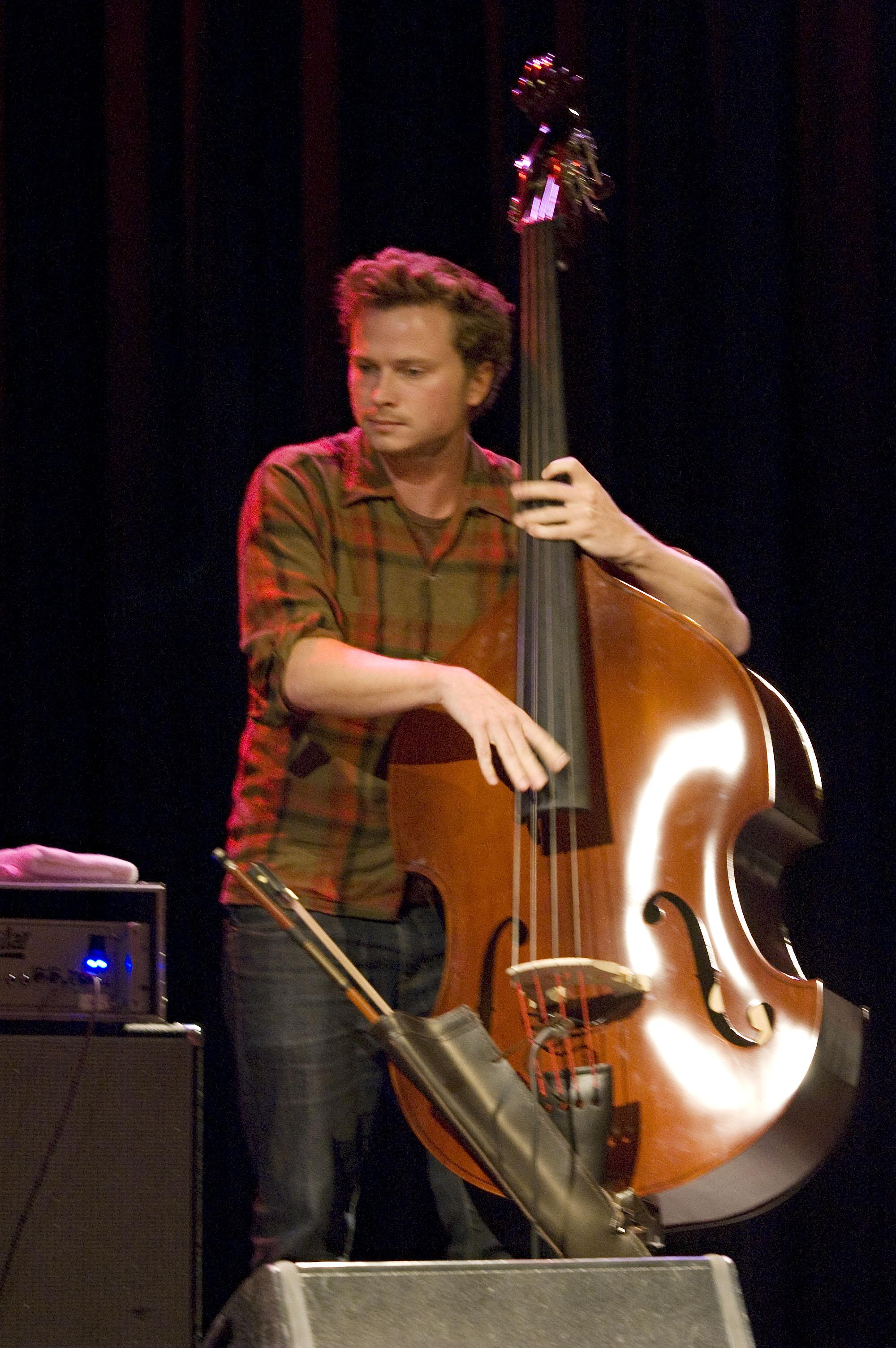 Milo Fitzpatrick of Portico Quartet, L'Astral, Montreal, Canada 10/02/2010