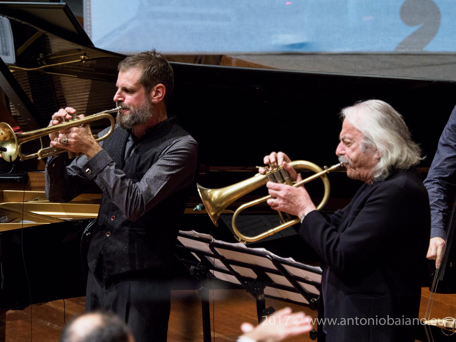 Fabrizio Bosso and Enrico Rava - Dizzy Gillespie Centenary - Moncalieri Jazz Festival