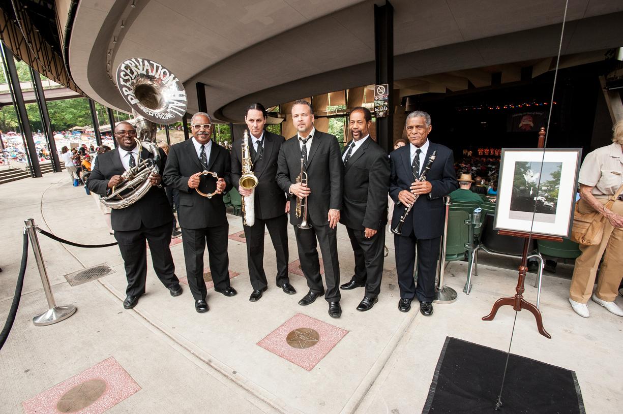 Preservation hall jazz band at the saratoga jazz festival 2013