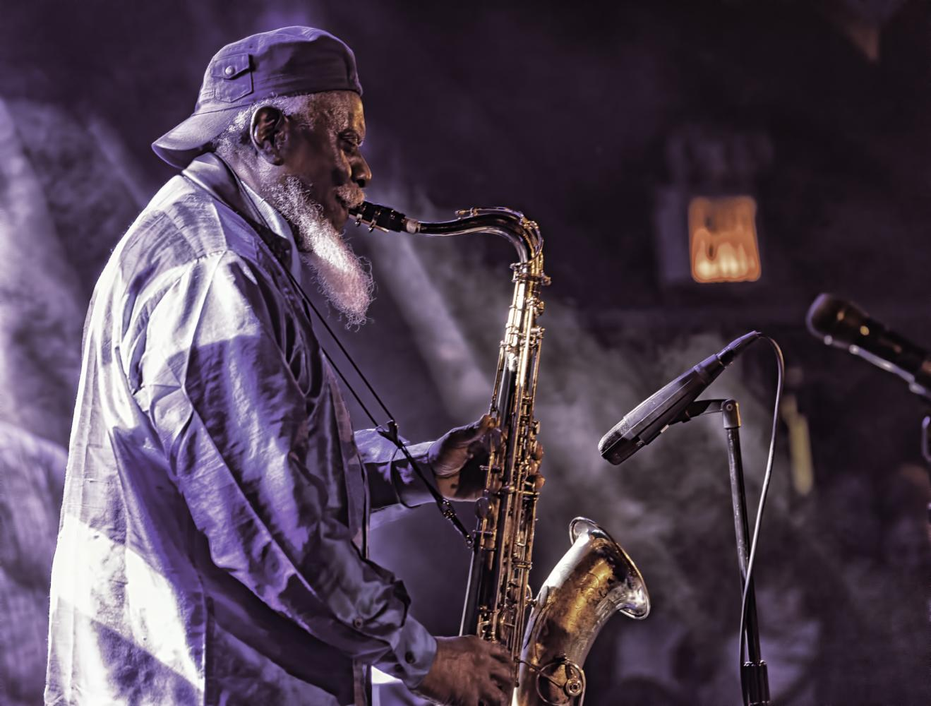 Pharoah Sanders at The NYC Winter Jazzfest 2017