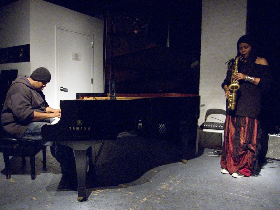 Matana Roberts &Amp; Tyshawn Sorey - The Stone 2007