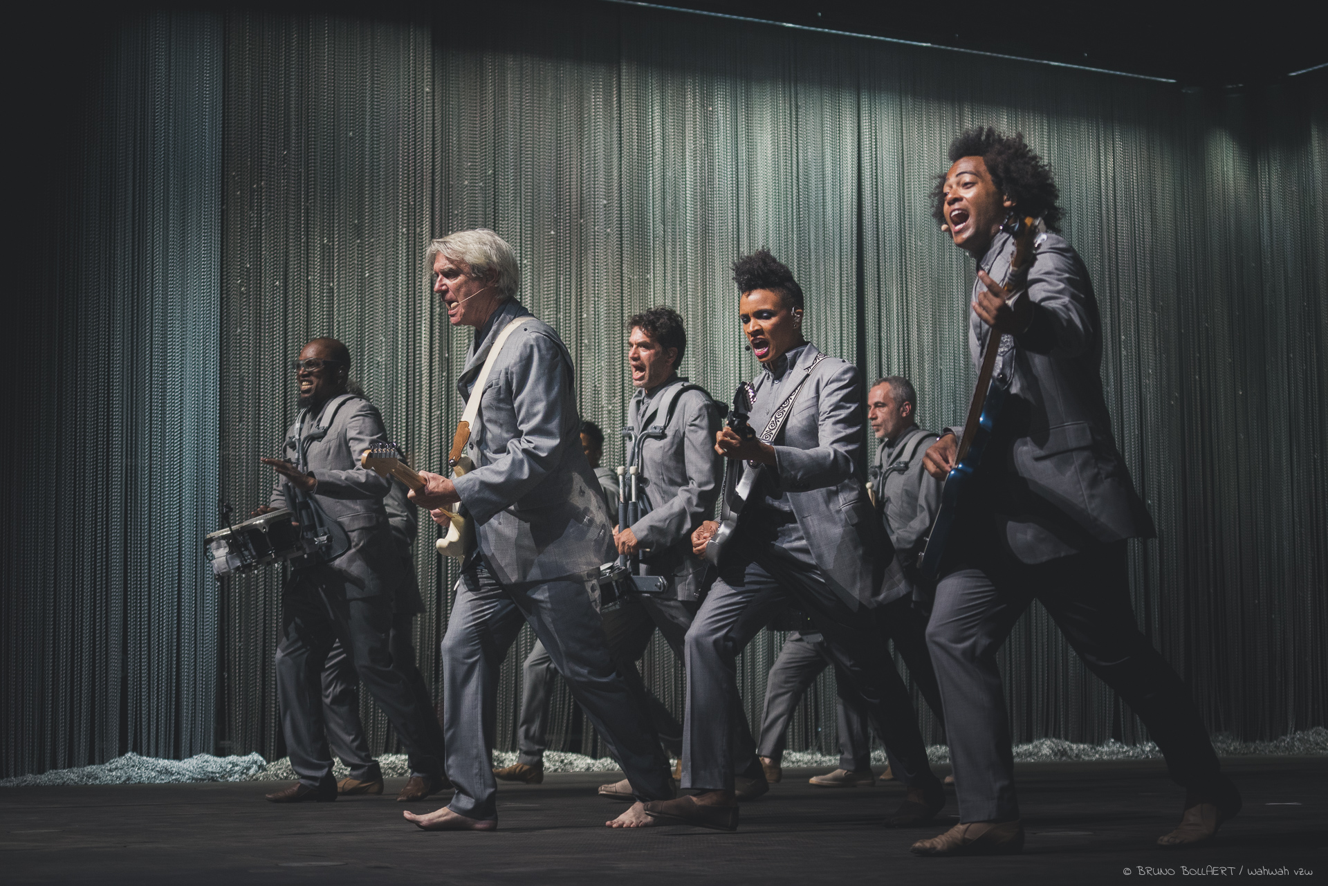 Live From Birmingham & Gent: David Byrne
