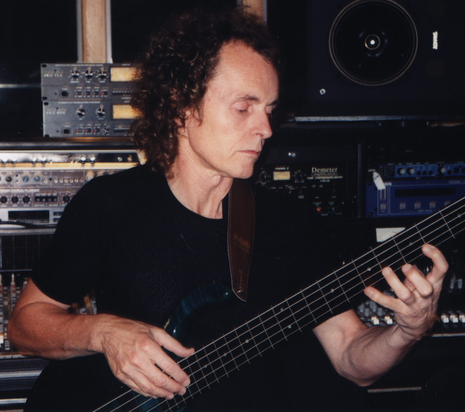 Mark at Electric Fields Studio