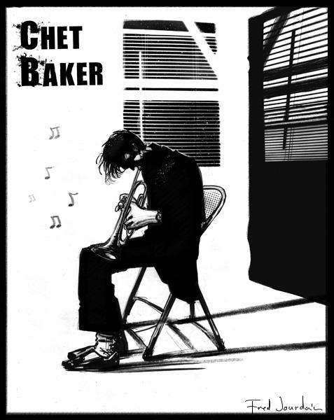 Chet Baker Portrait