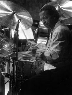 Tony Williams at the Monterey Jazz Festival in 1992