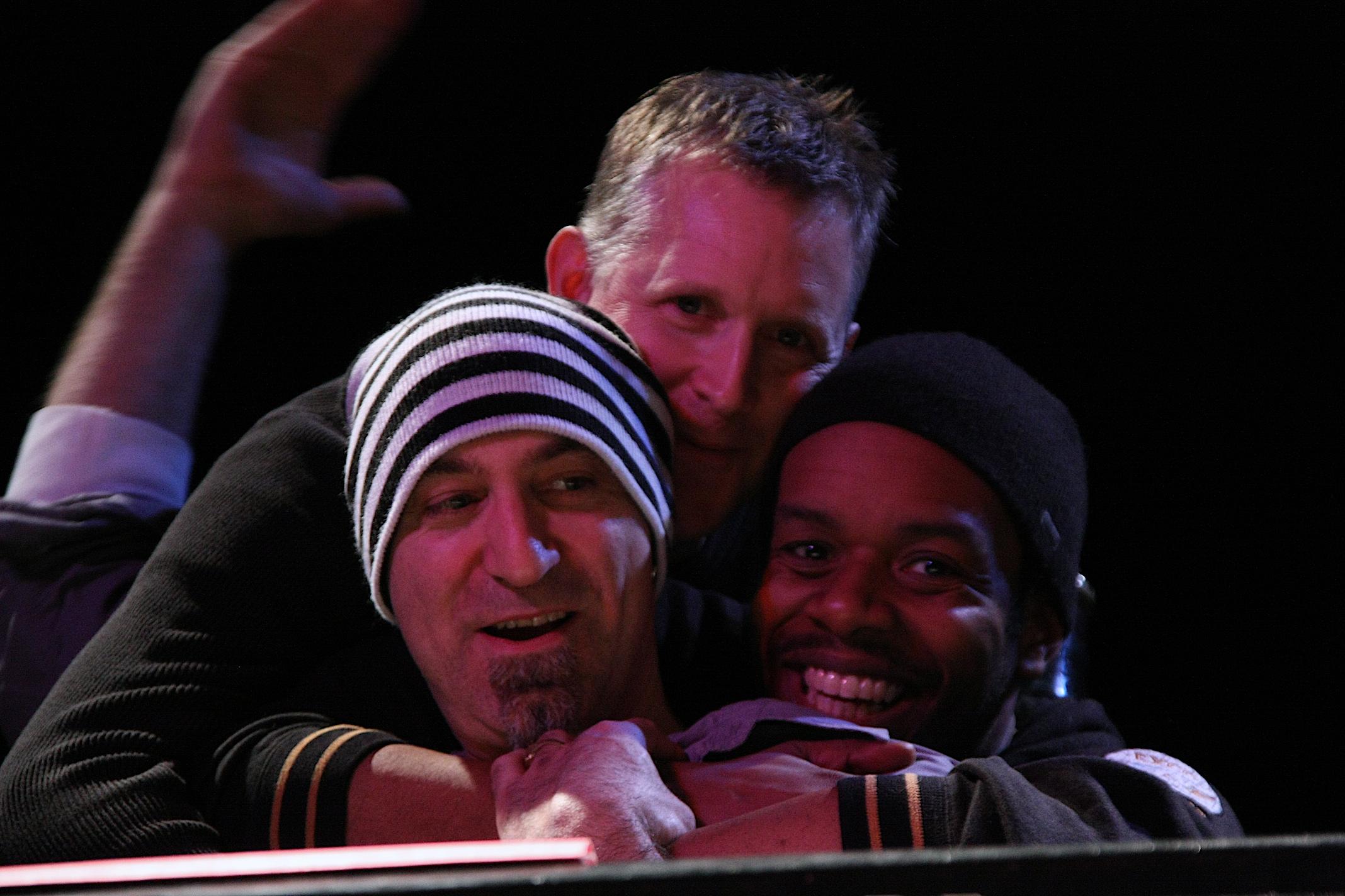 Steve Amirault, Mike Downes, Rich Brown