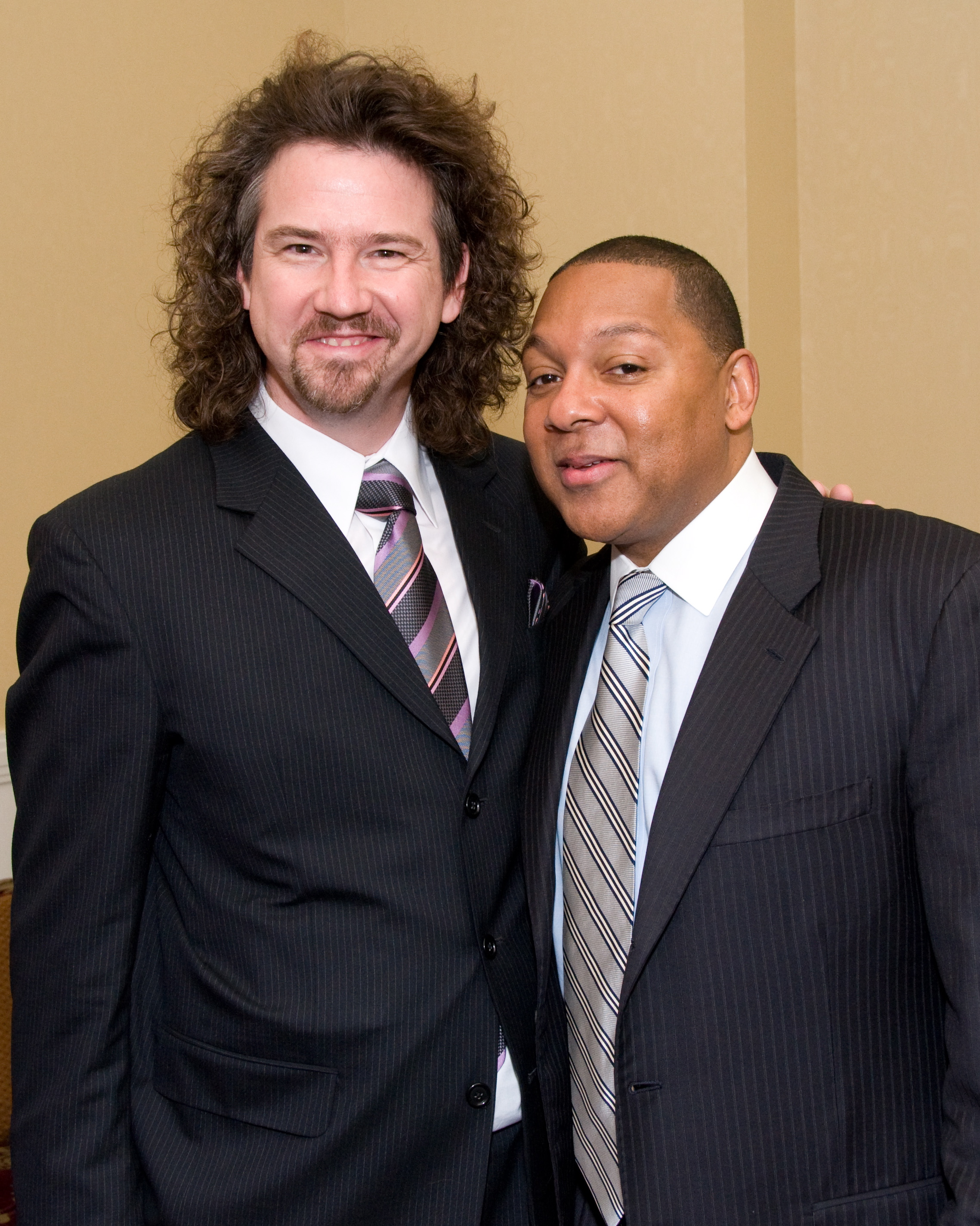 Jeff Antoniuk and Wynton Marsalis