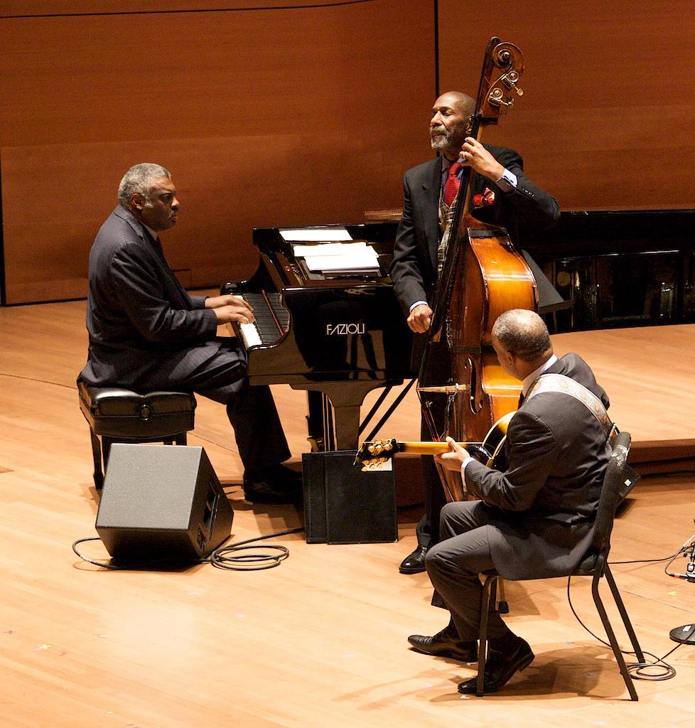 The Golden Striker Trio: Ron Carter, Mulgrew Miller, Russell Malone