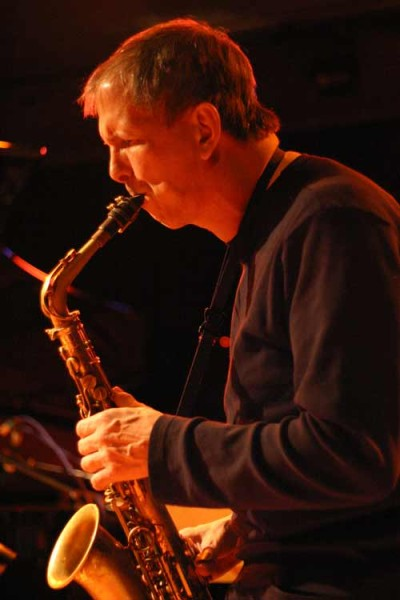 "Dick Oatts with ""David Berkman Quartet"" at Amr, Sud Des Alpes, Geneva, Switzerland, 2004"